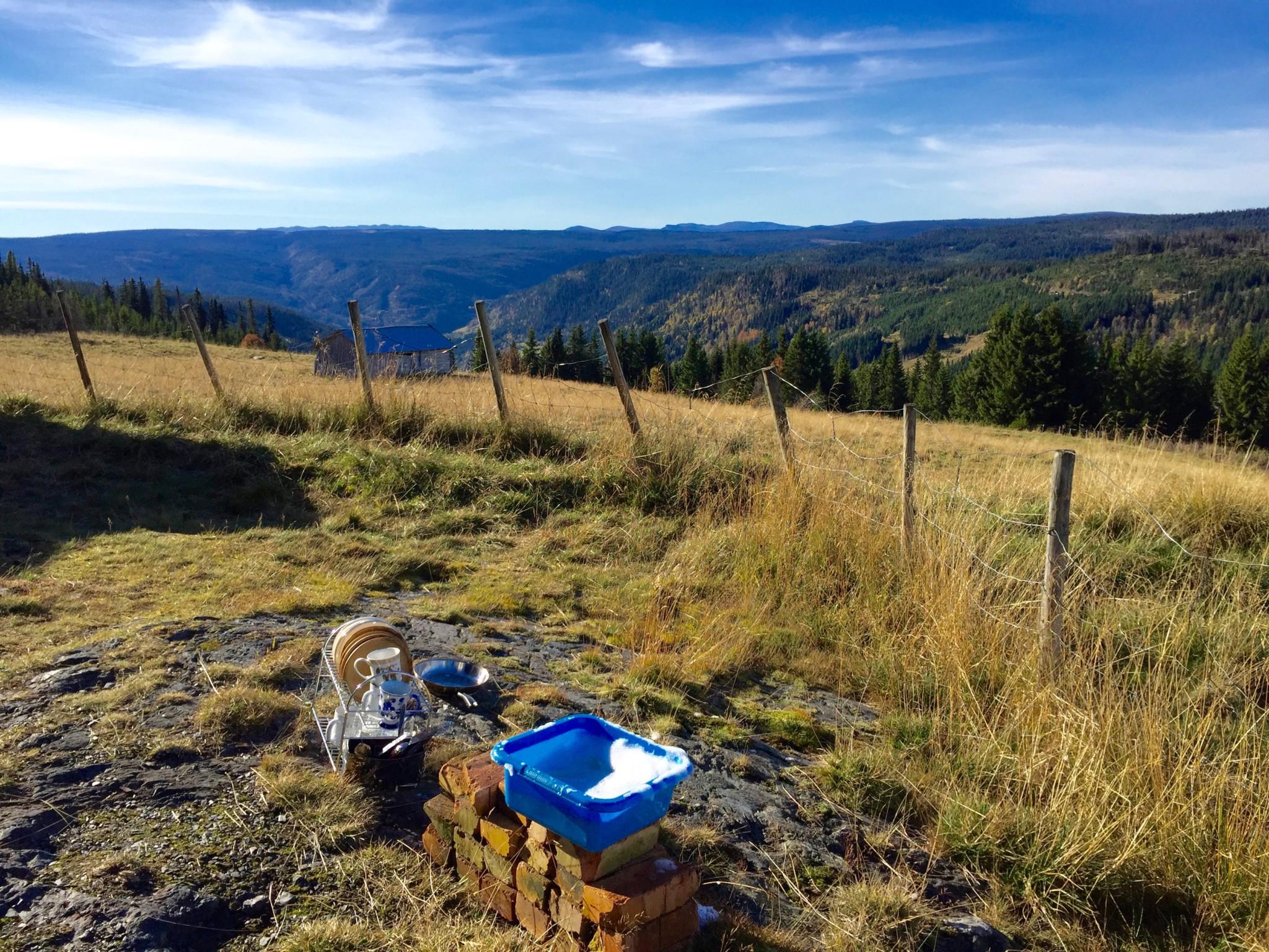 fjellet-gausdal-washing-up