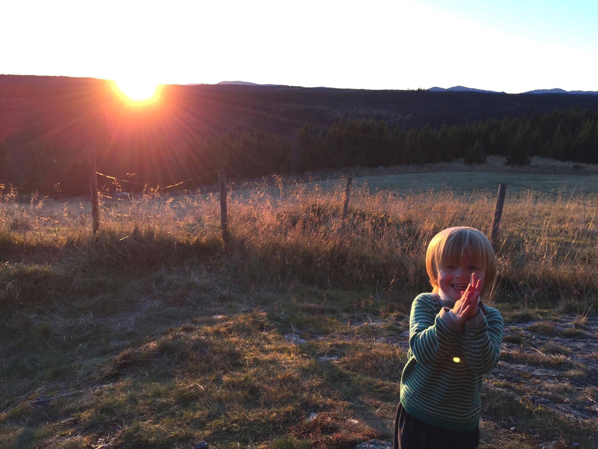seter-gausdal-sunset