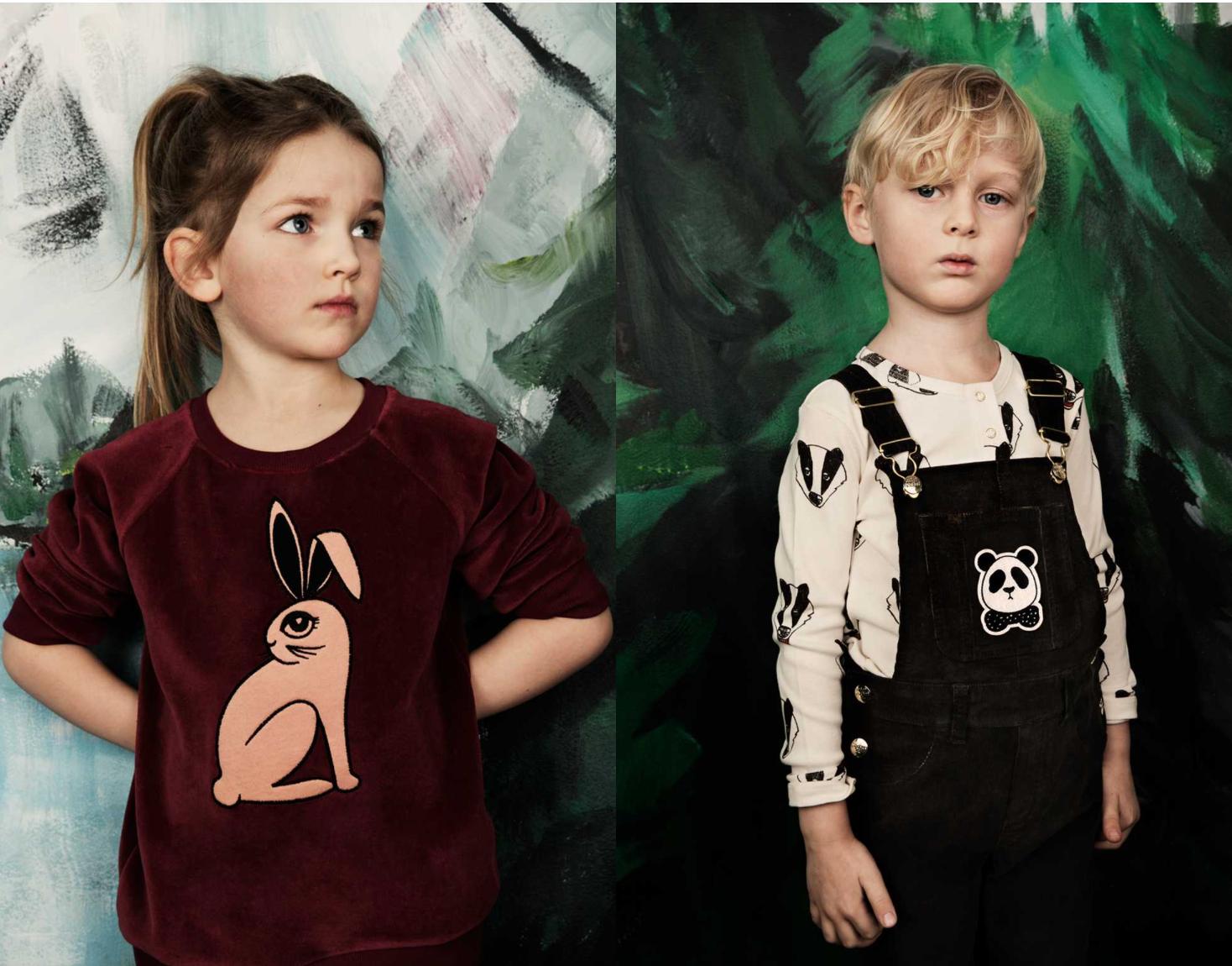 Fløyel, snekkerbukser, kaniner og grevlinger. Er det rart at jeg skulle ønske Mini Rodini også lagde klær for voksne?