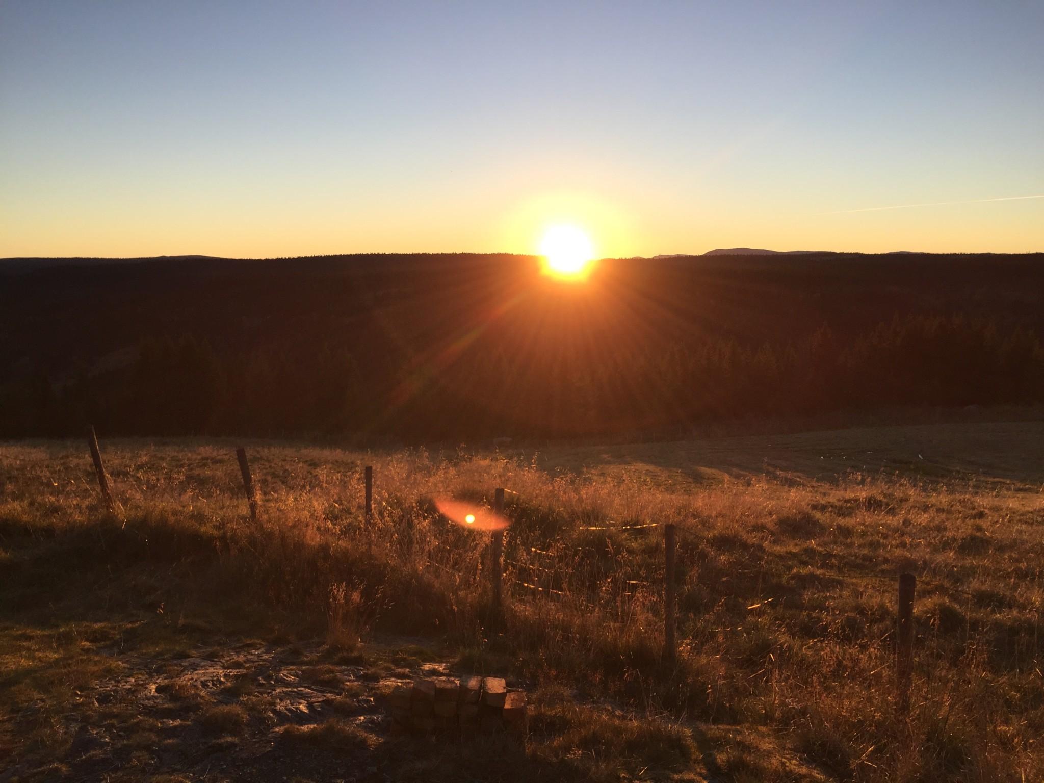 sunset-seter-gausdal