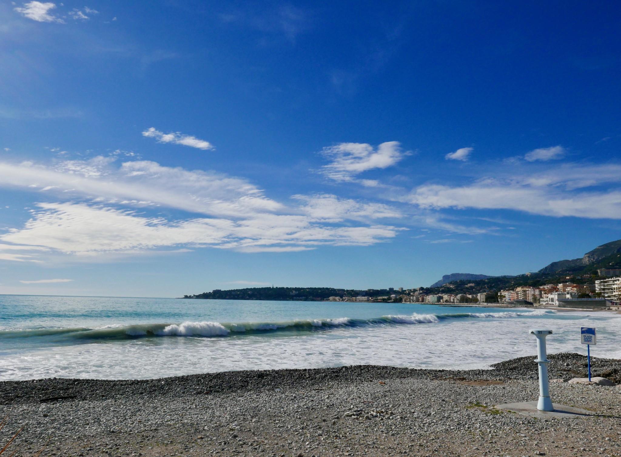 menton-beach-cote-azur-middelhavet