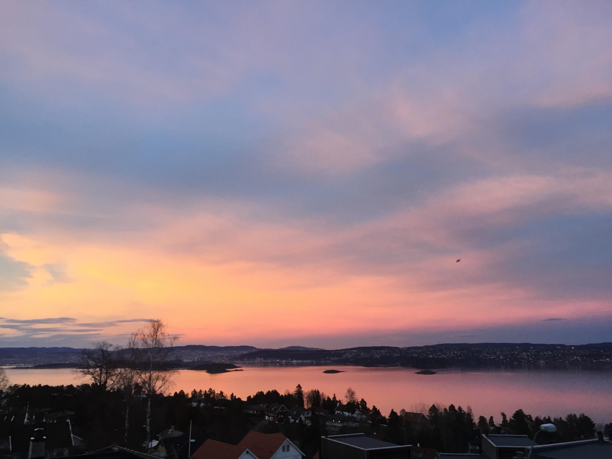 sunset-nesodden-oslo-solnedgang-mars