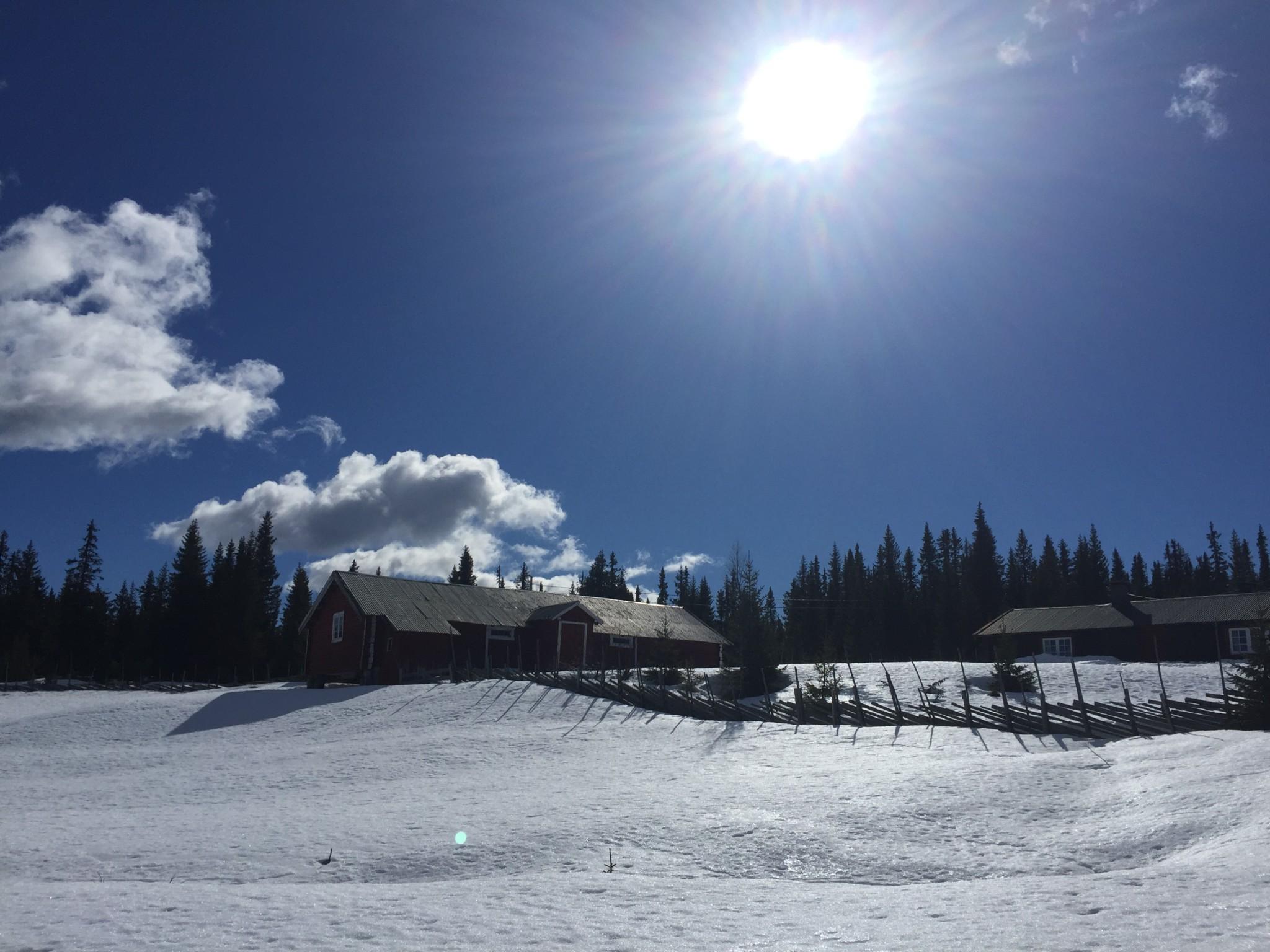 seter-view-last-snow-gausdal