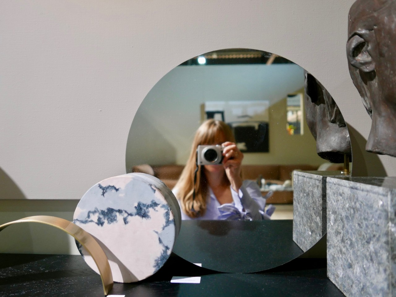 Anja rod-Oslo design fair mirror