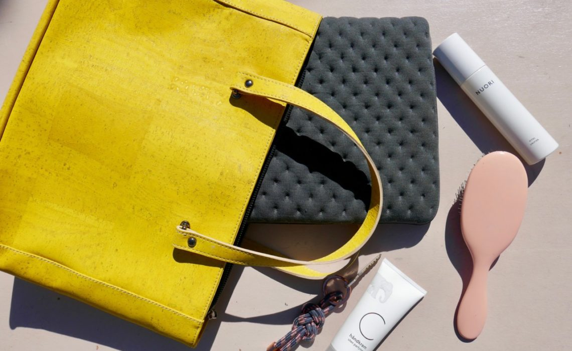 cork-leather-corkini-portugal-sustainable-yellow-green-house