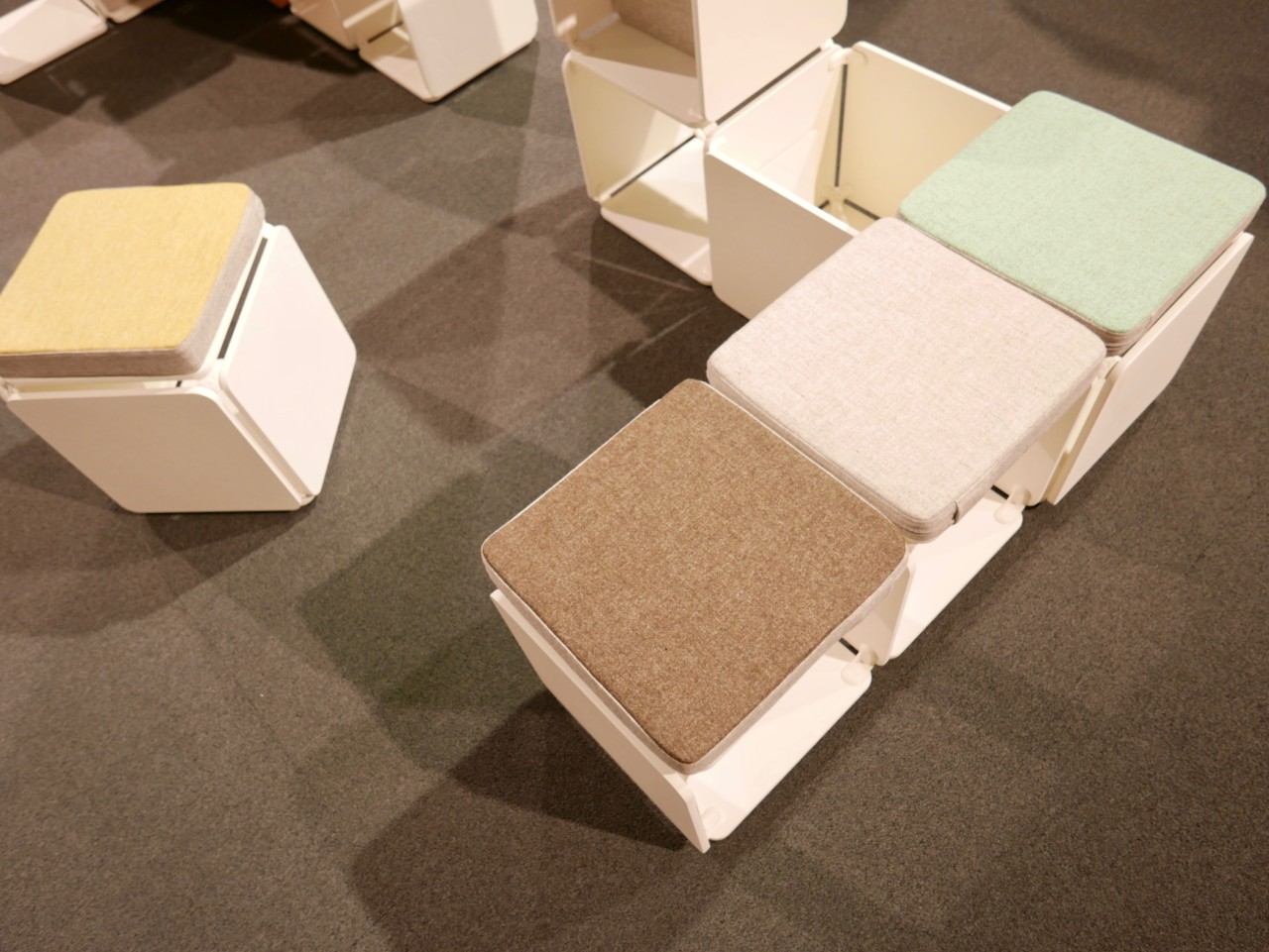 open-work-Oslo design fair modules reuse