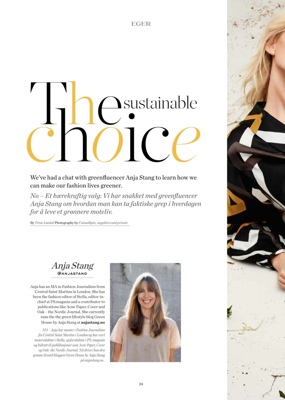 anja-stang-eger-magasinet-sustainable-choice