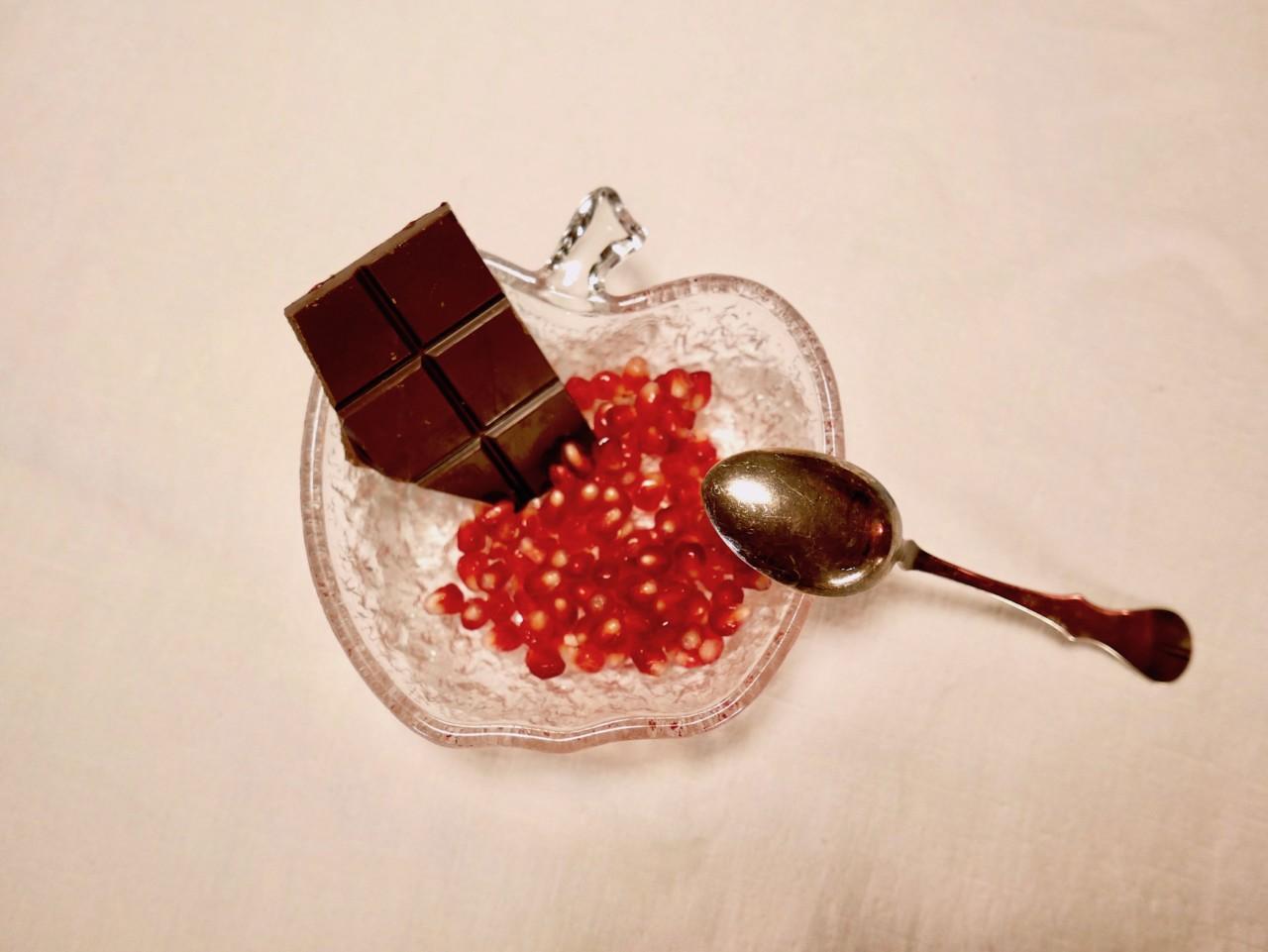 granateple-sjokolade-okologisk-vegansk-dessert-green-house