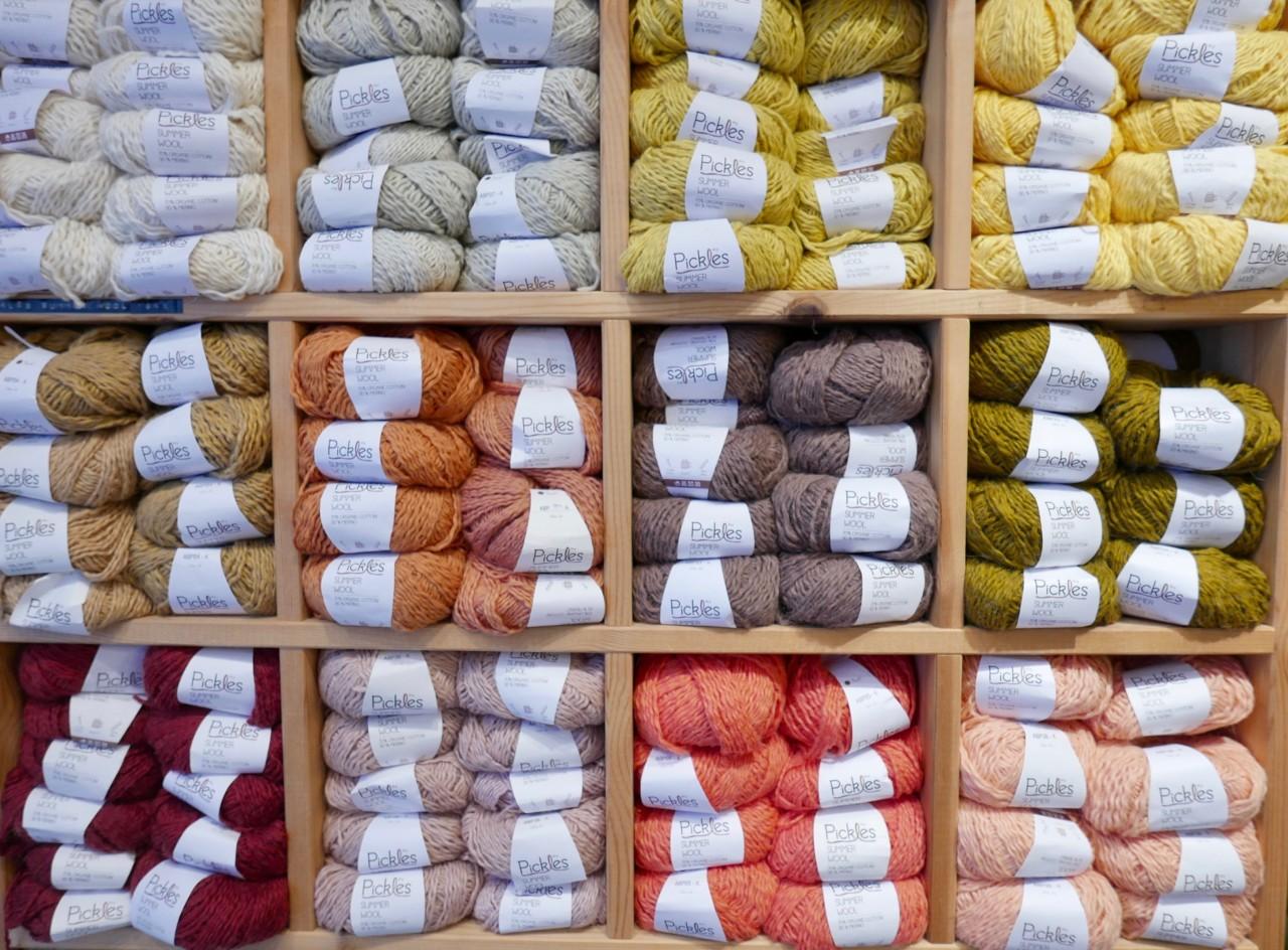 sommer-ull-summer-wool-pickles-organic-cotton-bomull-strikk