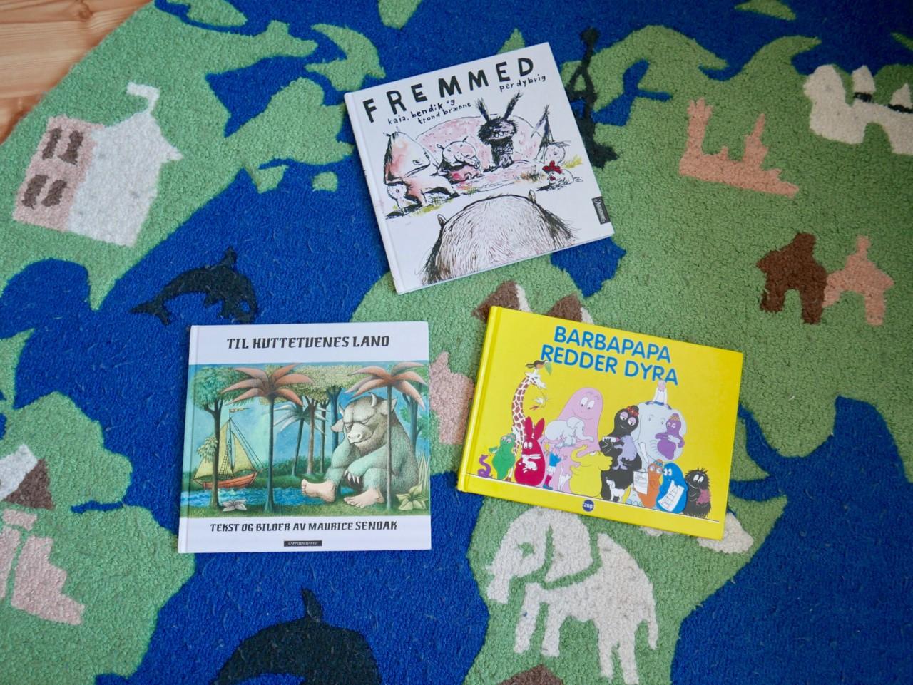 Fem favorittbøker barna kan lære noe av