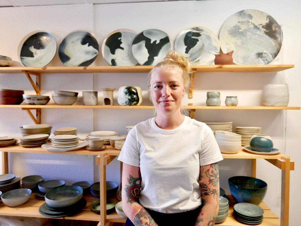Kunstprat med keramiker Anette Krogstad