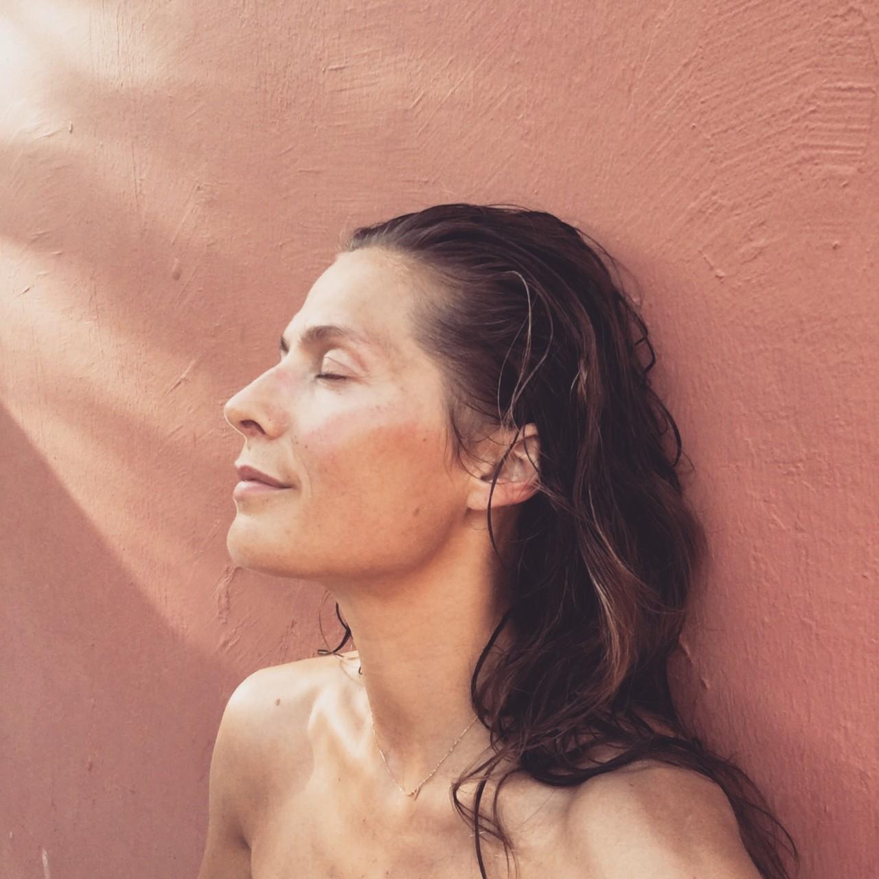 andrea-rudolph-selfie-okologisk-svanemerket-skjonnhet-dronning