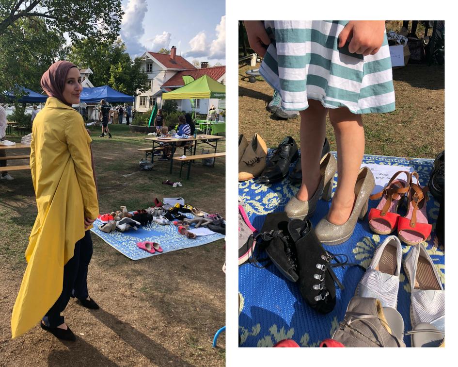 fashion-by-amina-store-sko-jakke-gjenbruksmarked-gronn-festival