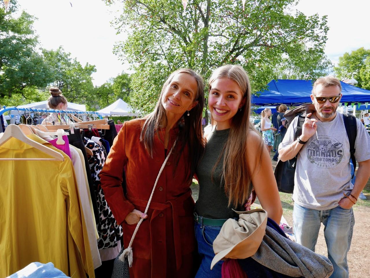 mor-og-datter-gronn-festival-gjenbruksmarked