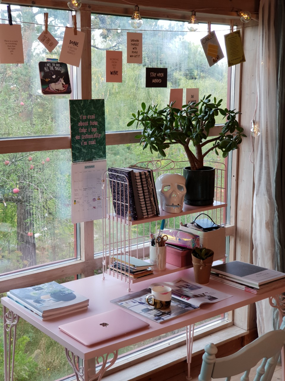 hjemmekontor-skrivebord-rosa-christina-fraas-kirsebarhagen