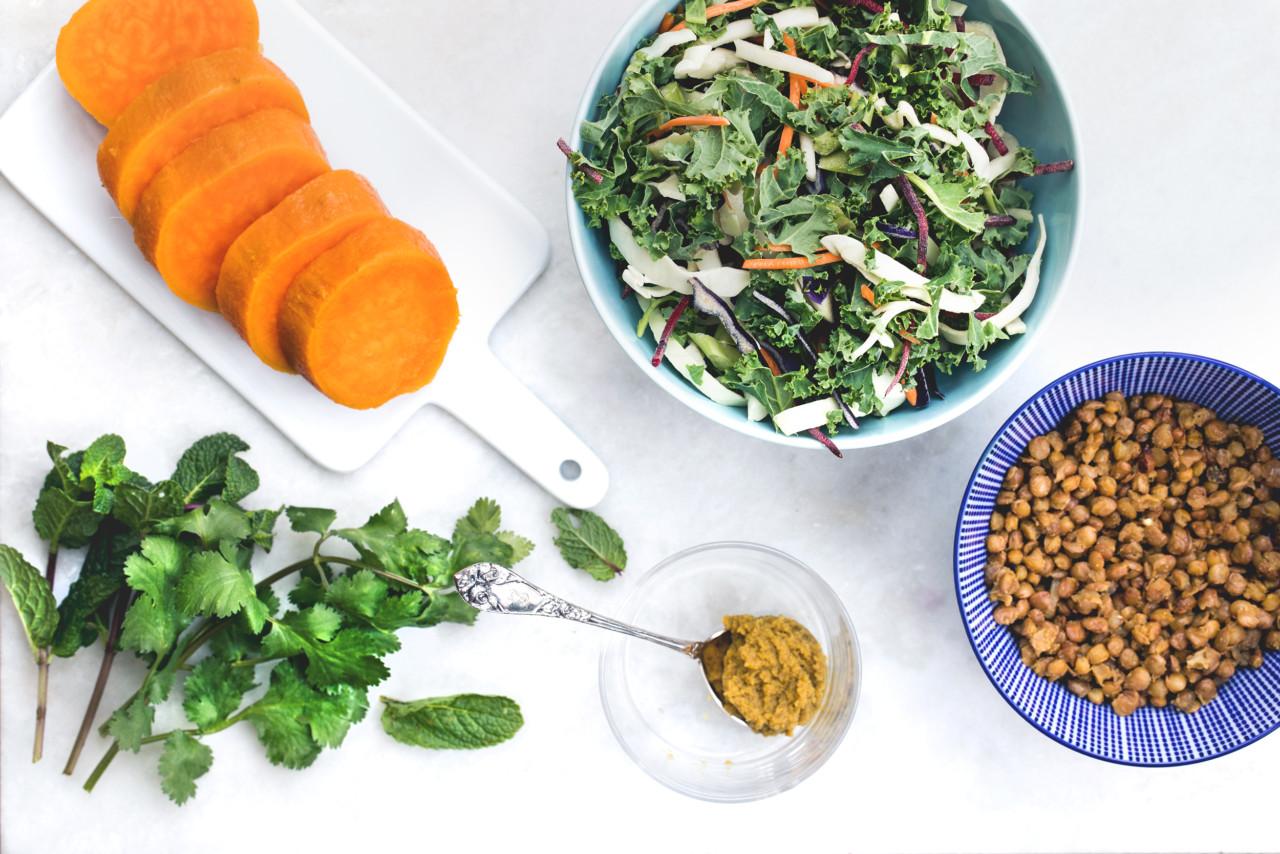 ingredienser-sotpotet-salat-sunn-vegansk-glutenfri-green-house-marte-garmann