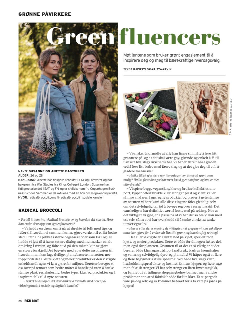 greenfluencers-ren-mat-radical-broccoli