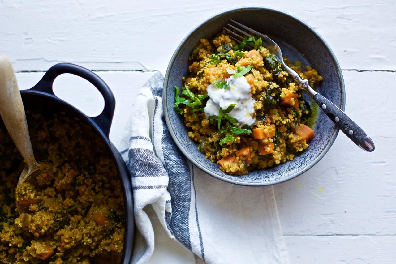 quinoa-sotpotet-one-pot-kjottfri-mandag-vegetardag-spiselandslaget