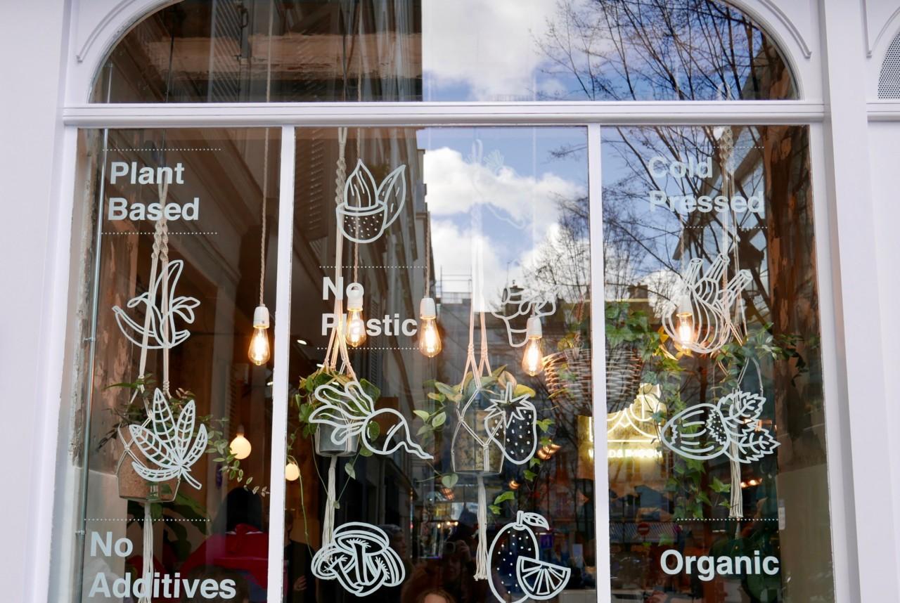Green Paris: Sopp-kakao og glutenfrie croissanter