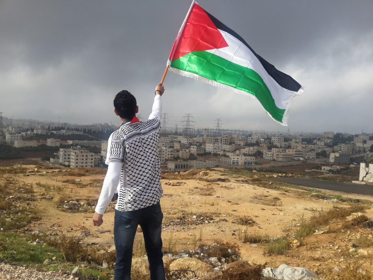 palestinske-flagg-gaza-eurovision-ahmed-abu-hameeda-unsplash