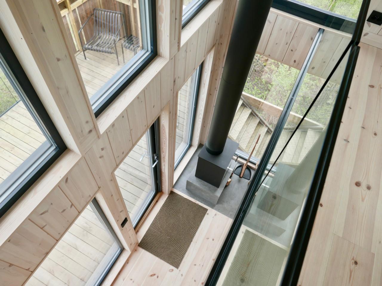 toten-tretopphytte-arkitekttegnet-trehus-green-house