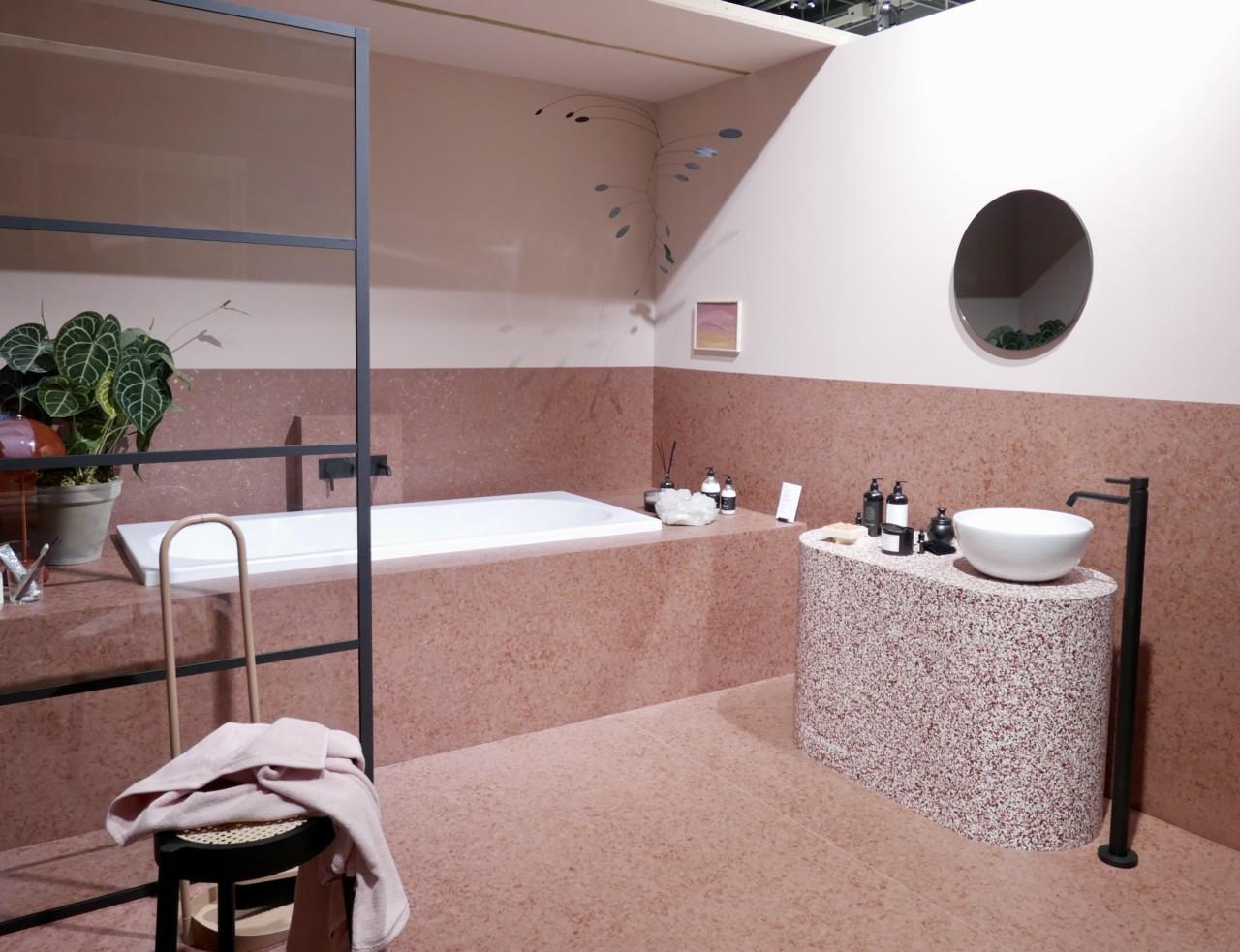 rosa-baderom-tendenser-utstilling-oslo-design-fair