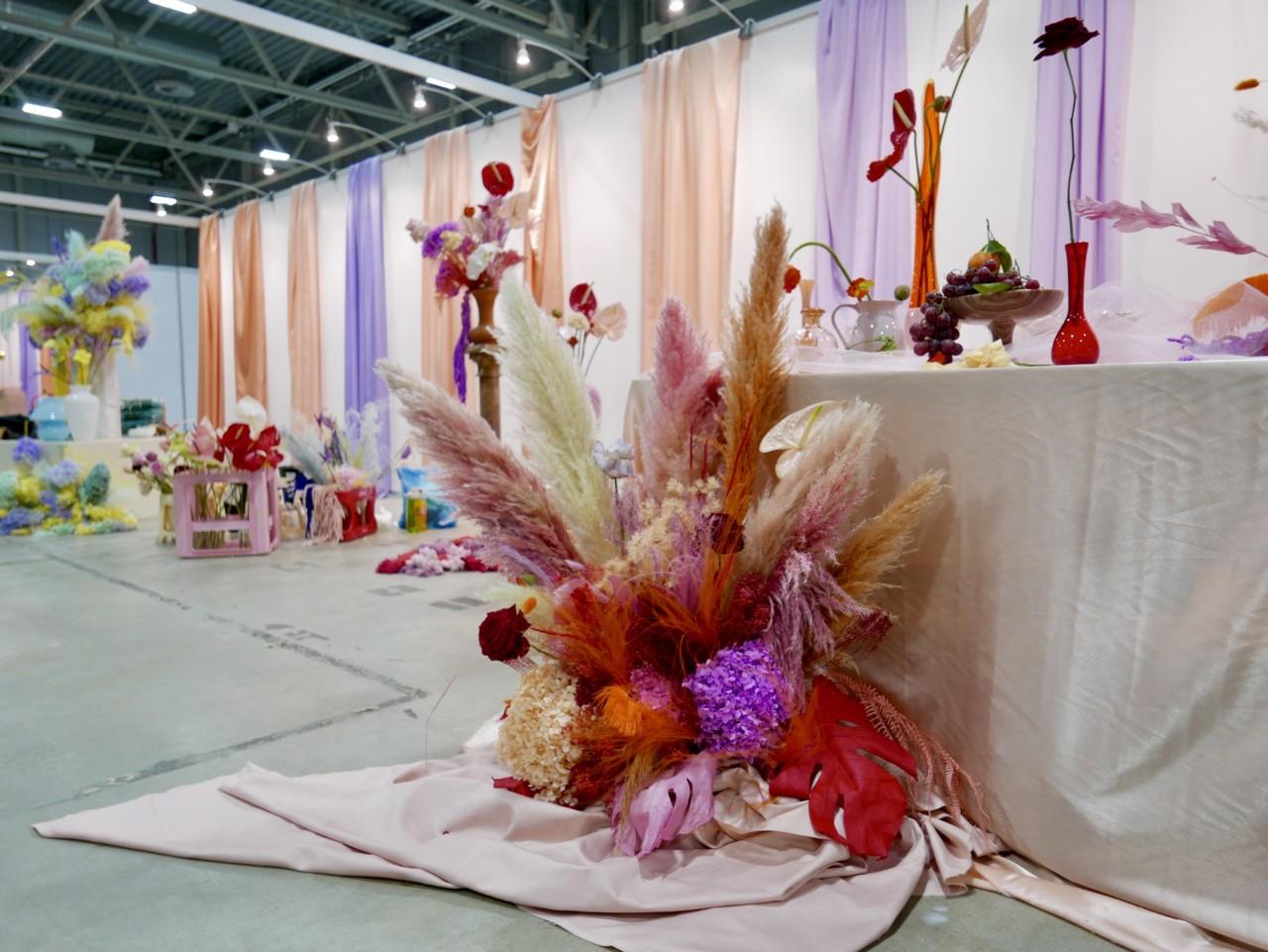 torka-blomster-oppsatser-dekorasjon-leie-carousel-oslo-design-fair