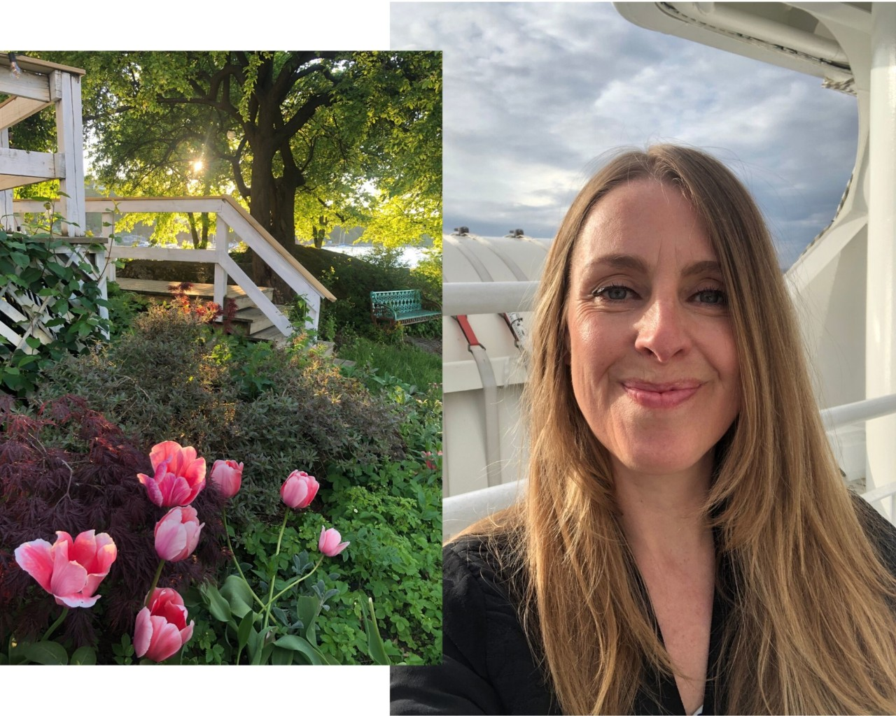 anja-stang-hellviktangen-kunstkafe-solnedgang-blomster-nesoddbaten