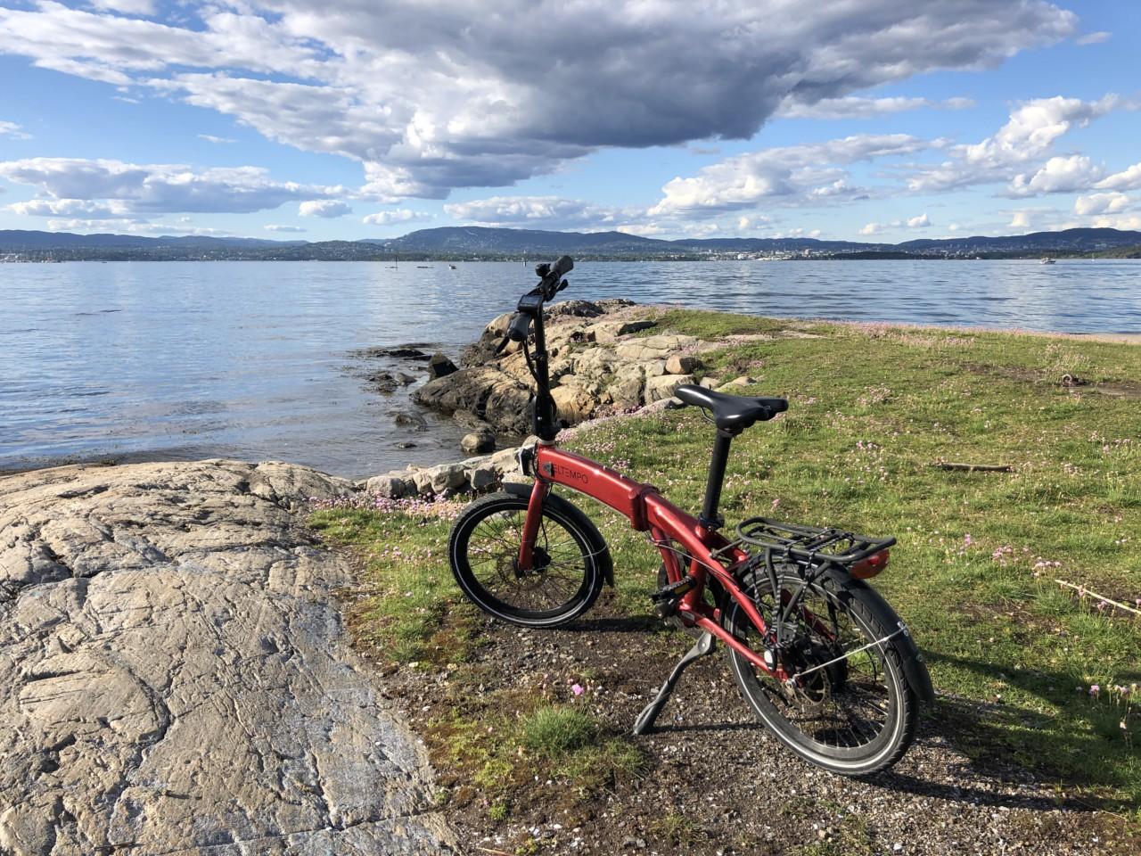 sommer-sykkel-eltempo-metro-elsykkel-nesodden-hellviktangen