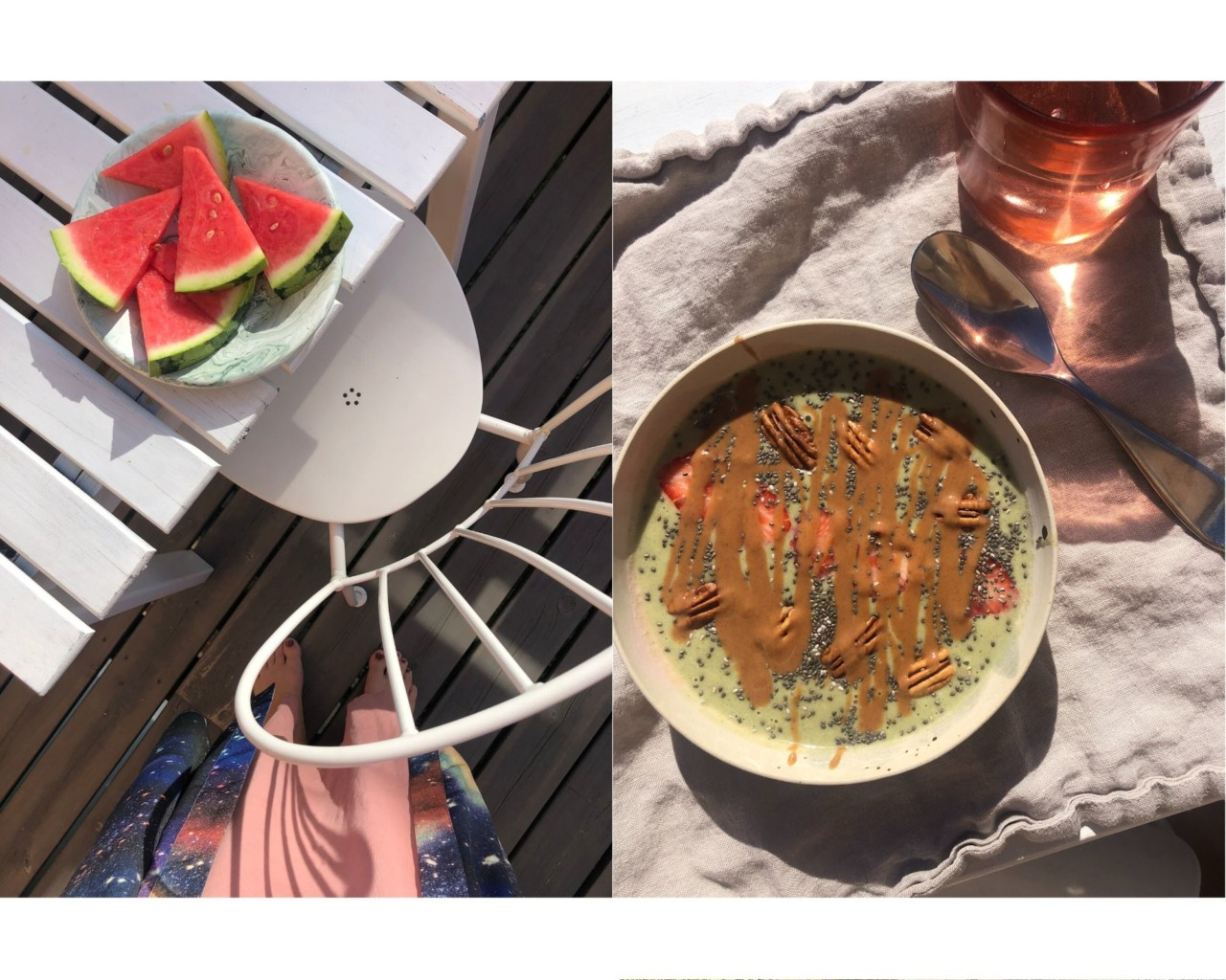 sommer-mat-smoothiebolle-vannmelon-terrasse