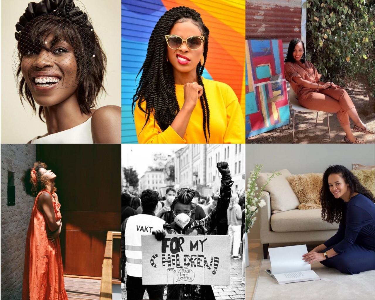 7 fargerike inspiratorer å følge nå
