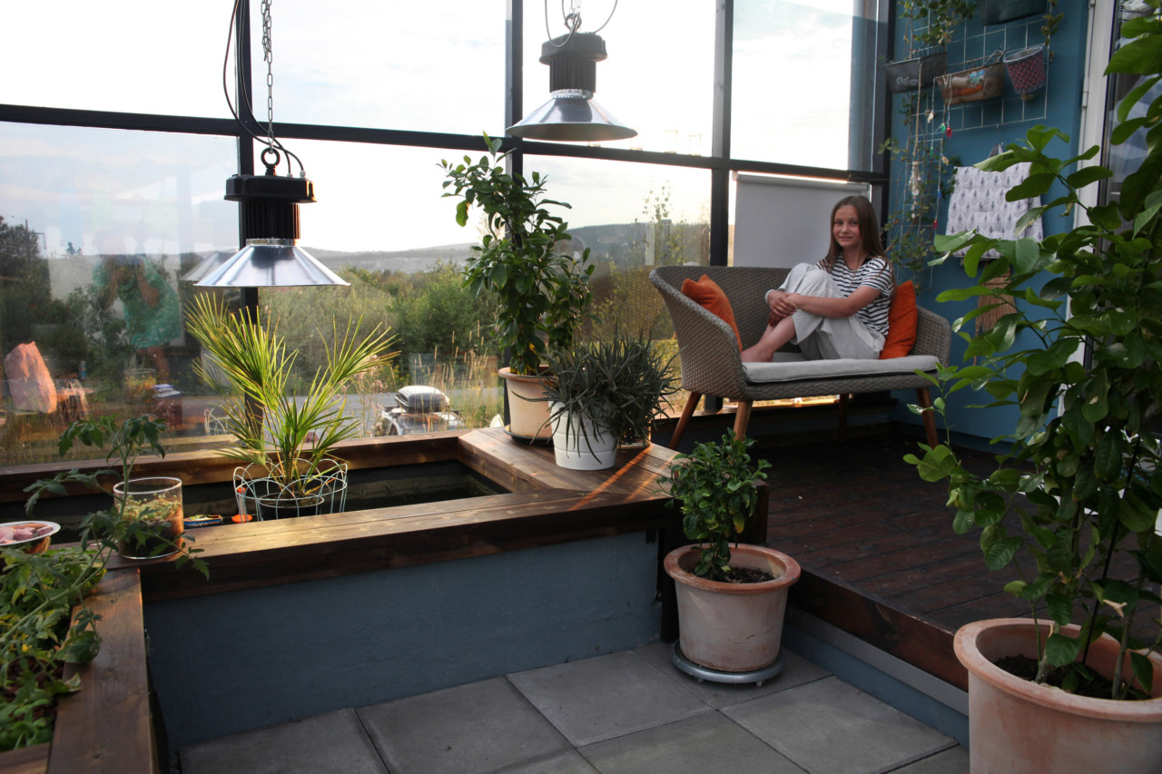 Robust og energismart passivhus: Livet i botanisk hage