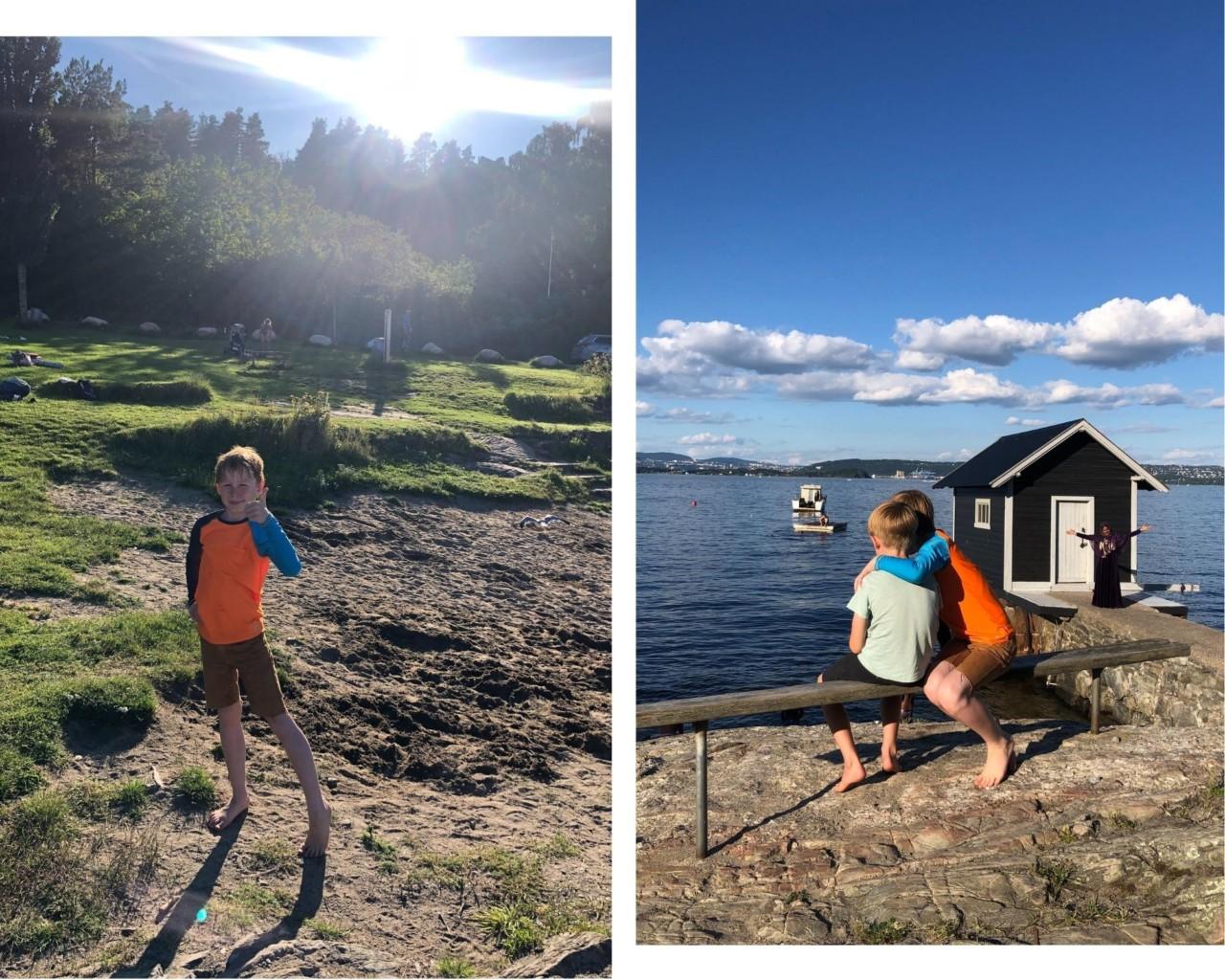 oksval-stranda-nesodden-love-brodre-sommerferie