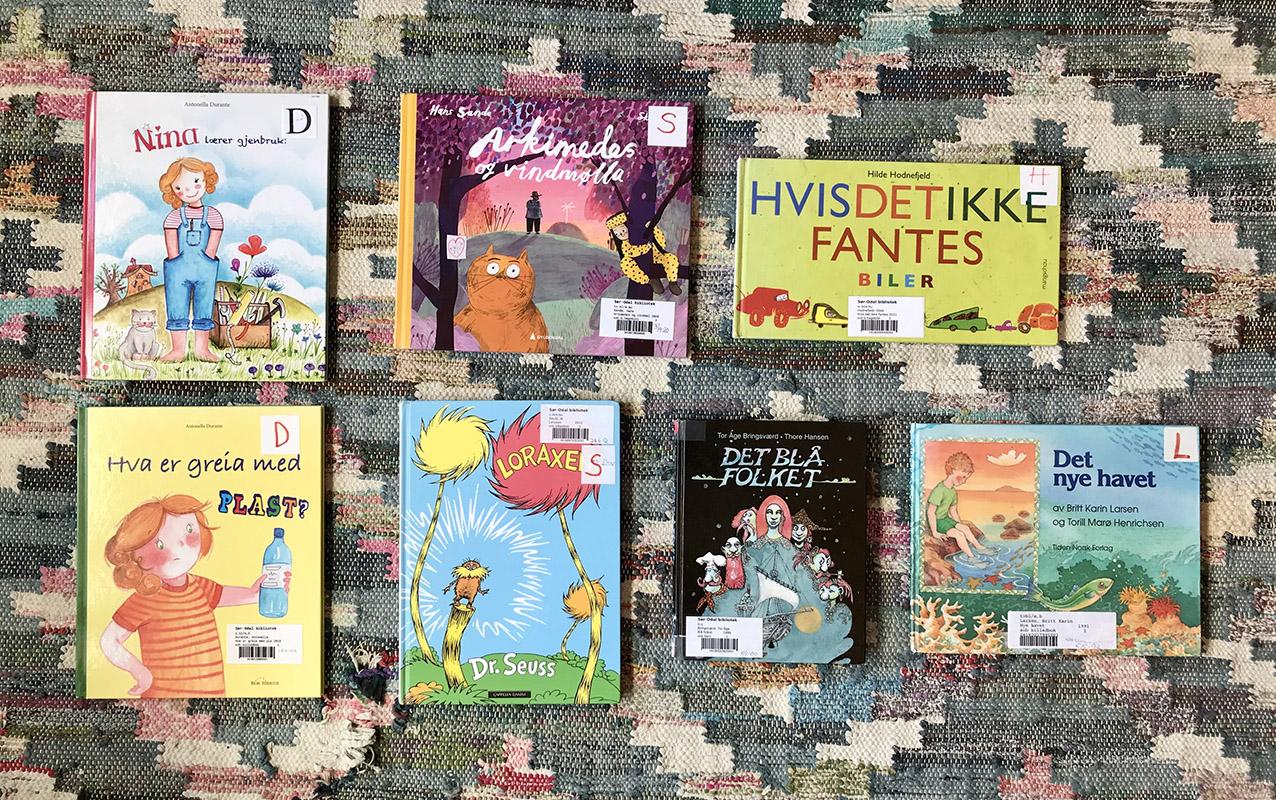 7 grønne barnebøker og en helsprø favoritt