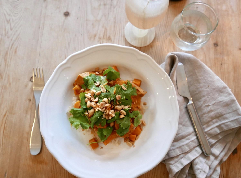 Vegansk curry med verdens kuleste kjøtterstatning